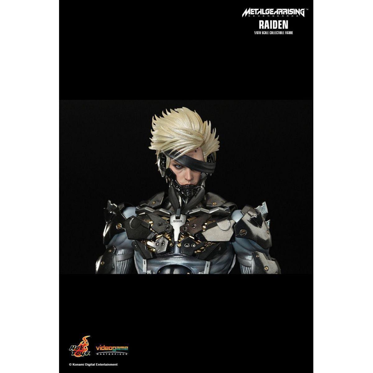 Boneco Raiden: Metal Gear Rising: Revengeance Escala 1/6 - Hot Toys - CD