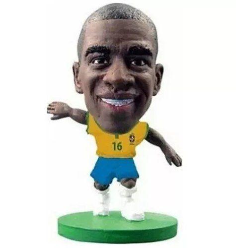 Boneco Ramires: Mini Craques Brasil (Copa do Mundo) - DTC