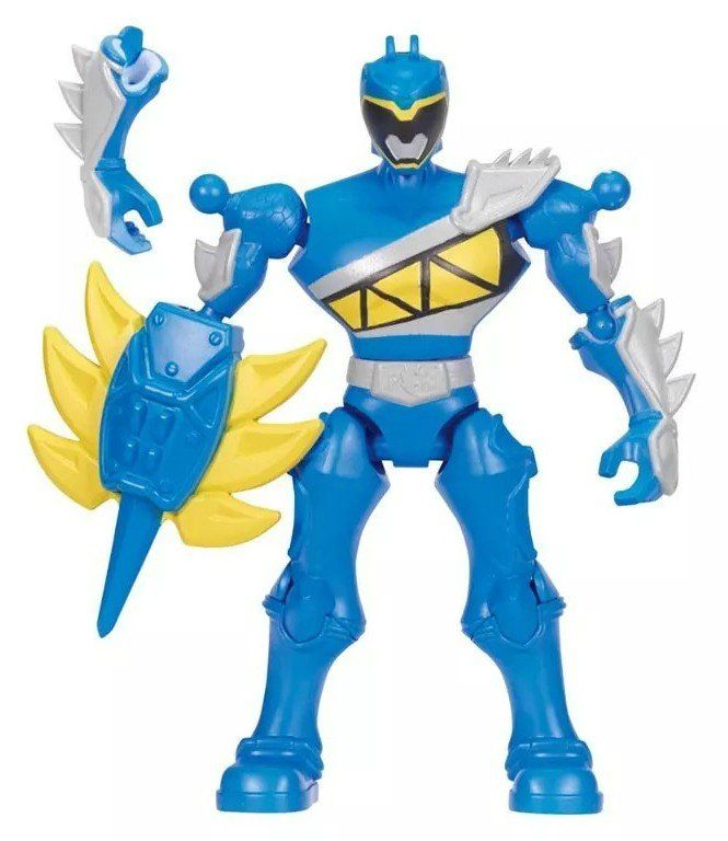 Boneco Ranger Azul: Power Rangers Dino Charge - Bandai