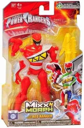 Boneco Ranger Vermelho:  Power Rangers Dino Charge - Bandai
