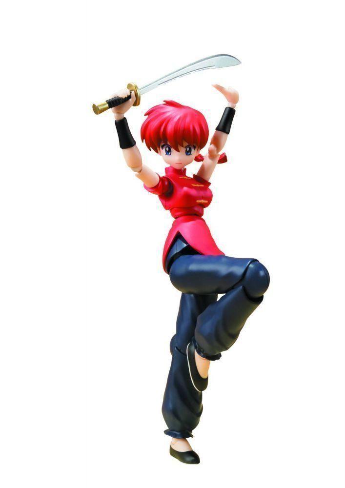 Boneco Ranma Saotome: Ranma ½ (S.H. Figuarts) - Bandai - CD