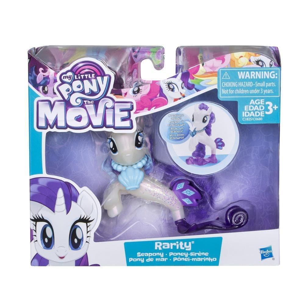 Boneco Rarity Pônei-Marinho:  My Little Pony O Filme - Hasbro