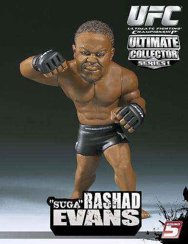 Boneco Rashad Evans (Suga): UFC Ultimate Collector