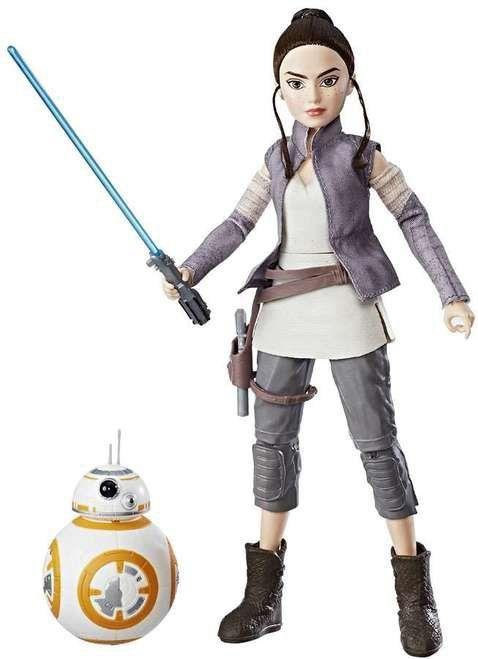 Boneco Rey e BB-8: Star Wars Forces of Destiny - Hasbro