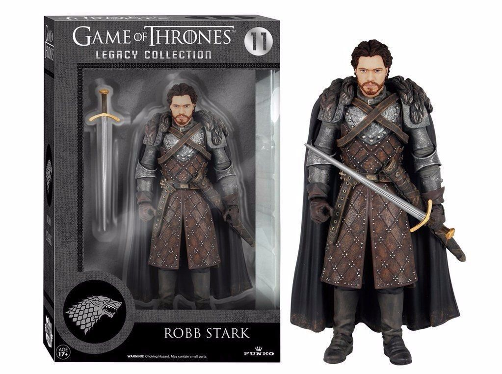 Funko Boneco Robb Stark: Game of Thrones - Funko