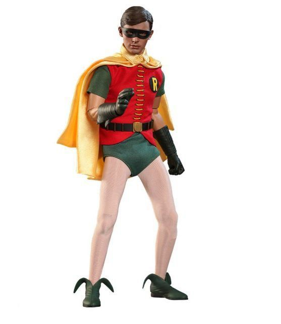 Boneco Robin: Batman Classic TV Series (1966) 1/6 - Hot Toys - CG