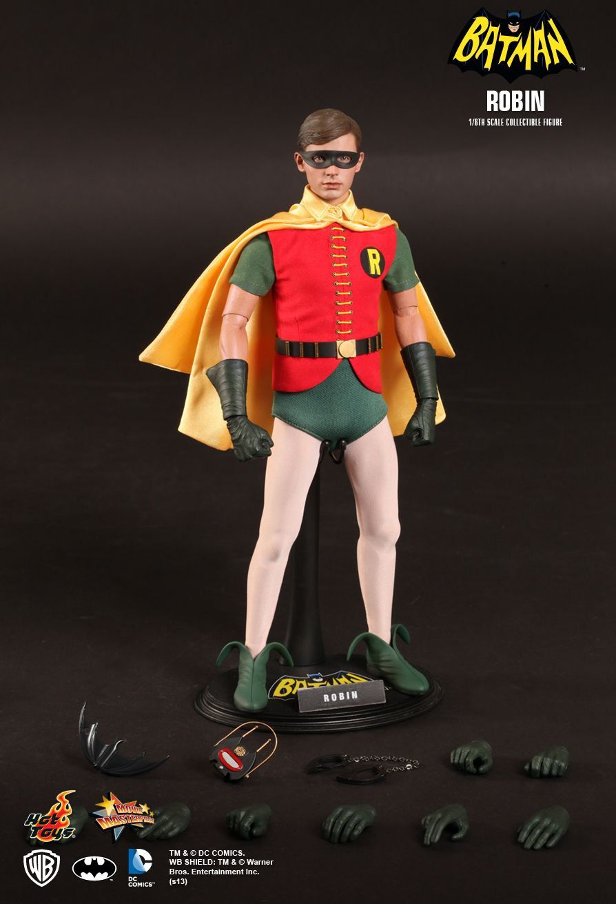 Boneco Robin: Batman Classic TV Series (1966) Escala 1/6 (MMS219) - Hot Toys - CG