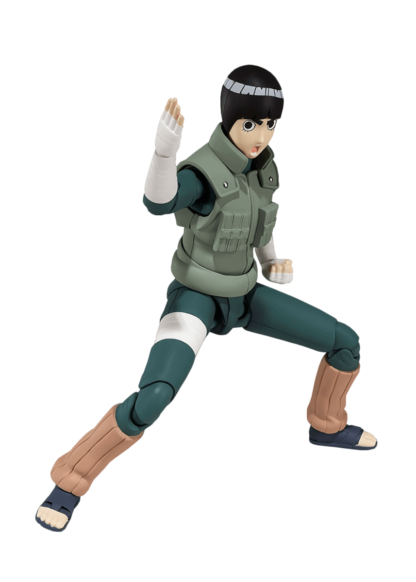 Boneco Rock Lee: Naruto Shippuuden S.H.Figuarts Escala 1/12 - Bandai