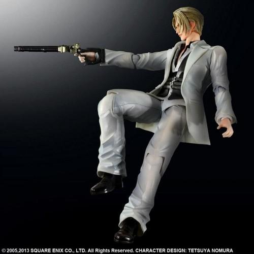 Boneco Rufus Shinra: Final Fantasy VII Escala 1/8 - Play Arts Kai (Square Enix)