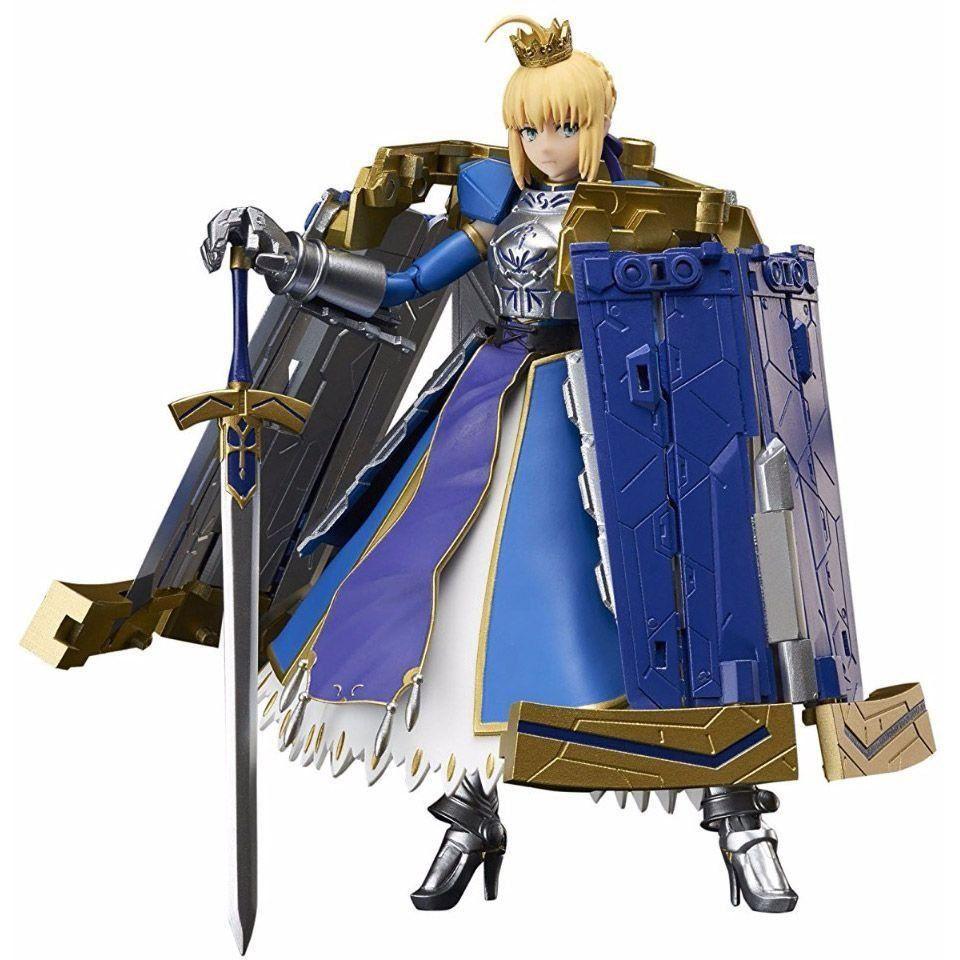 Boneco Saber Artoria Pendragon & Variable Excalibur: Fate/Grand Order Armor Girls Project (Fate Stay Night) - Bandai - CD