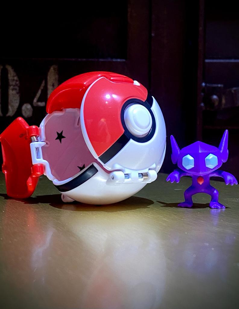 Boneco Sableye (Great Ball Pops): Pokémon - Sunny