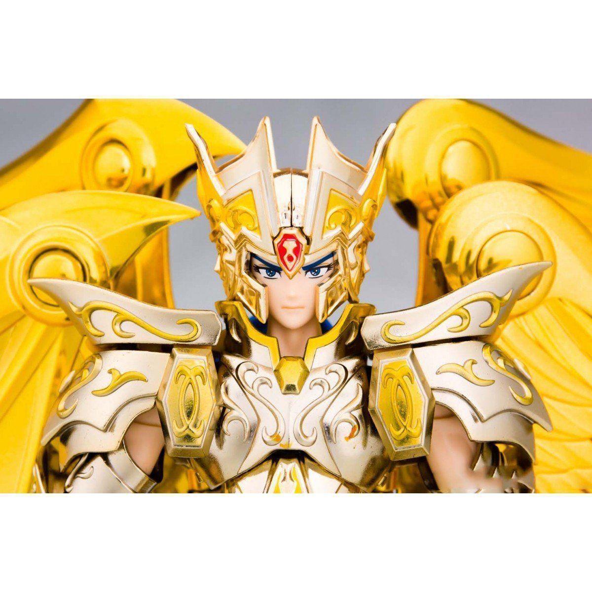Boneco Saga de Gêmeos (Gemini Saga): Os Cavaleiros do Zodíaco Saint Cloth Myth Ex: Saga Premium Set - Bandai