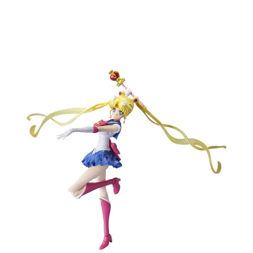 Boneco Sailor Moon Crystal: Sailor Moon (S.H. Figuarts) - Bandai - CD