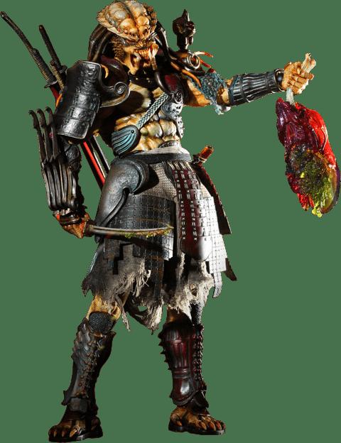 Boneco Samurai Predador (Samurai Predator): Alien vs Predador (Alien vs Predator) Escala 1/6 (AC01) - Hot Toys - CG