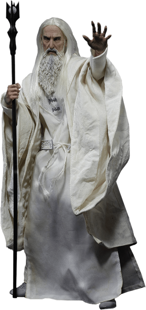 Boneco Saruman o Branco: O Senhor dos Anéis (The Lord Of The Rings) Escala 1/6 - Asmus Toys (Apenas Venda Online)