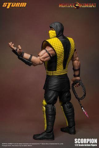 Boneco Scorpion: Mortal Kombat Classic 1/12 - Stor