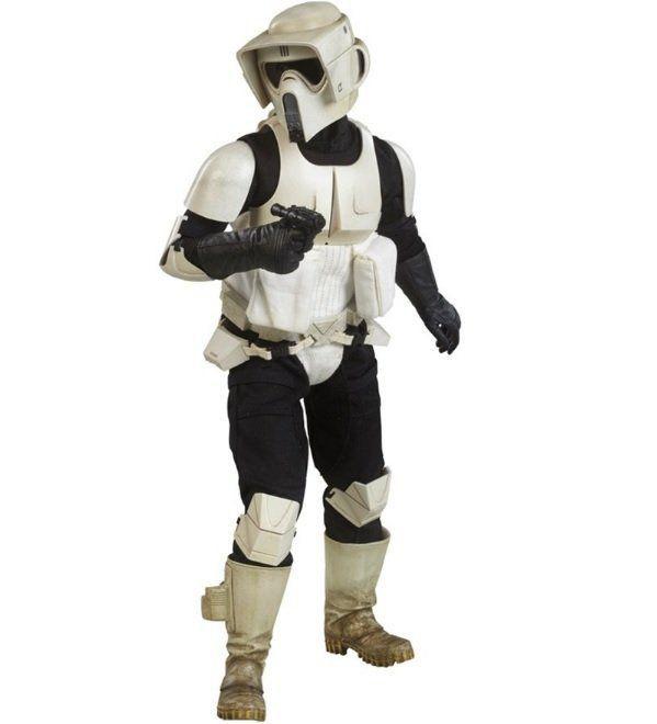 Boneco Scout Trooper: Star Wars Episódio 6: O Retorno de Jedi Escala 1/6 - Sideshow