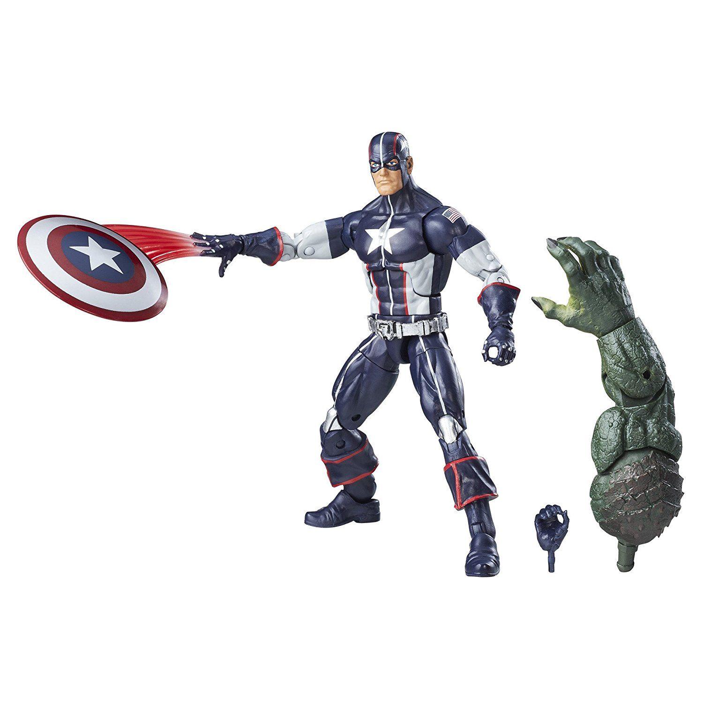Boneco Secret War Captain America: Marvel Legends Series - Hasbro