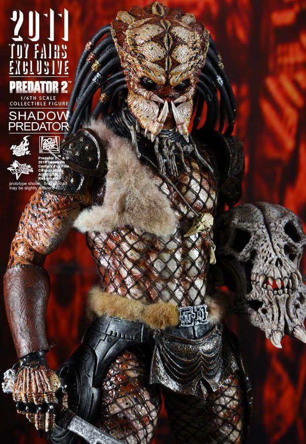Boneco Shadow Predator: Predator 2 (Predador 2) (Toy Fairs Exclusive) Escala 1/6 - Hot Toys