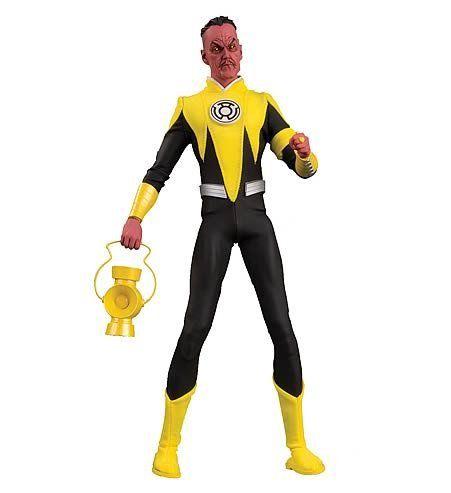 Boneco Sinestro (Deluxe): DC Comics (Escala 1/6) - DC Direct - CG
