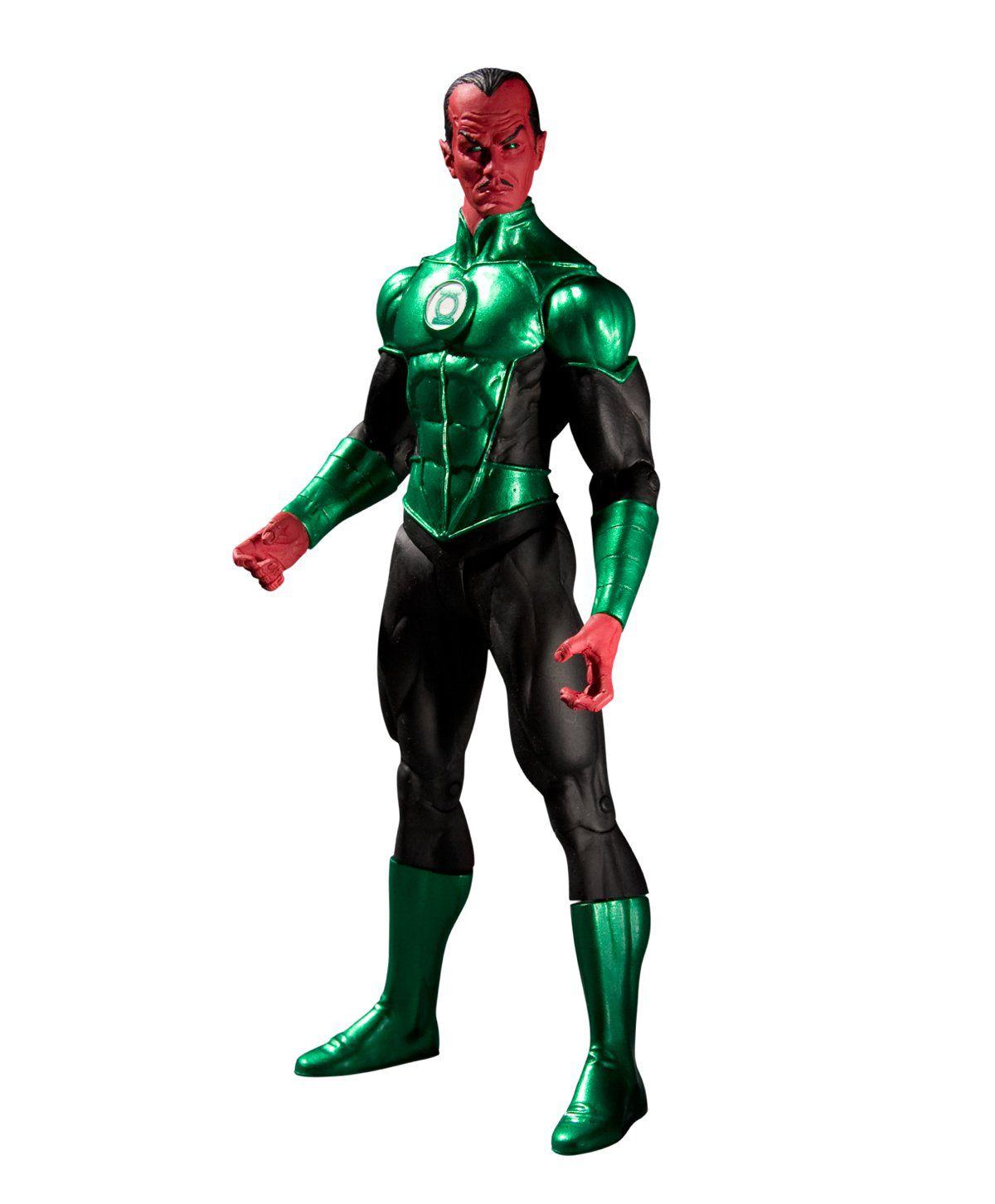Boneco Sinestro: Lanterna Verde (Green Lantern) Series 5 - DC Direct - CG