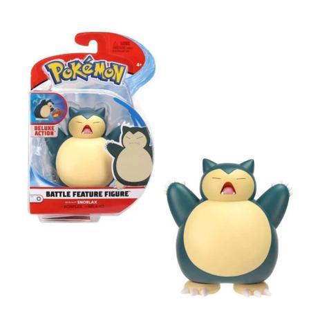Boneco Snorlax: Pokémon (Battle Feature Figure) - Sunny