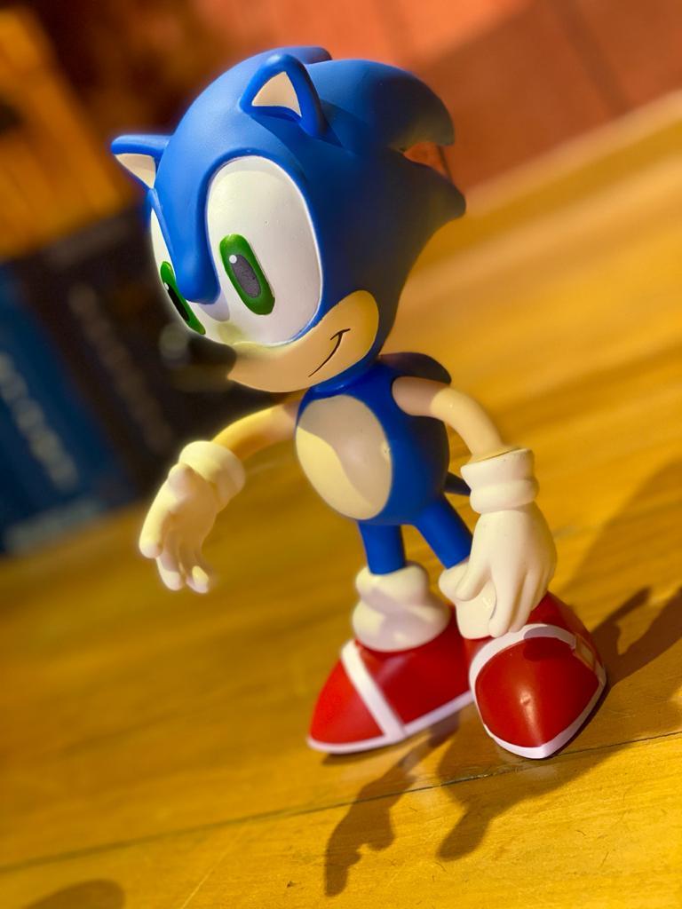Boneco Sonic: Sonic World (20Cm)