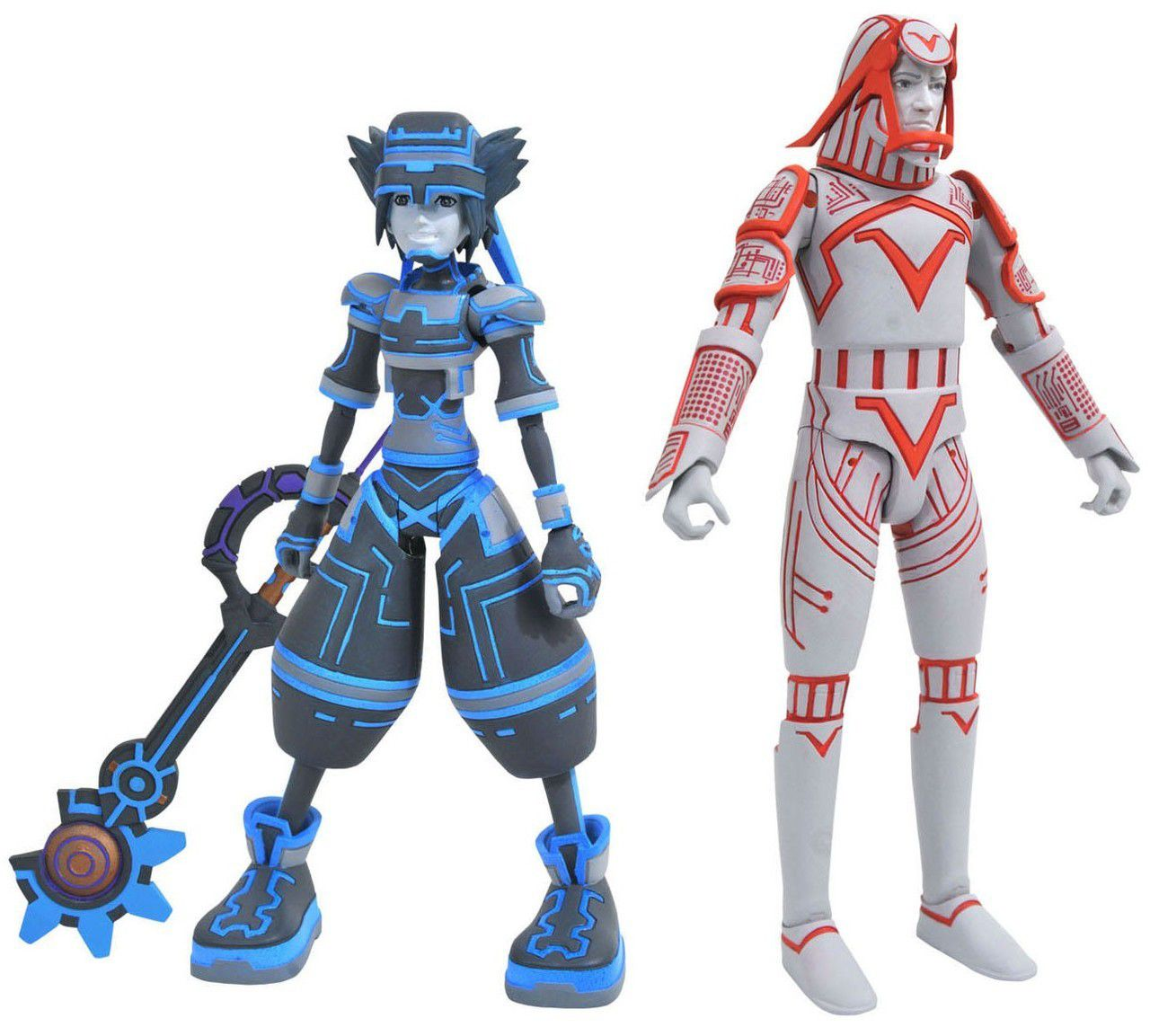 Action Figure Sora & Sark: Kingdom Hearts (Series 3) Boneco Colecionável - Diamond Select