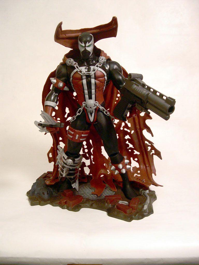 Action Figure Spawn (Super Size): Spawn - Boneco Colecionável - Mcfarlane Toys