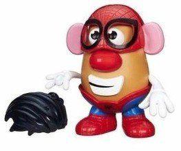 Boneco Sr. Cabeça de Batata (Homem-Aranha): Mrs. Potato Head - Hasbro