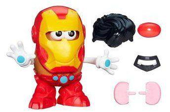 Boneco Sr. Cabeça de Batata (Homem de Ferro): Mrs. Potato Head - Hasbro