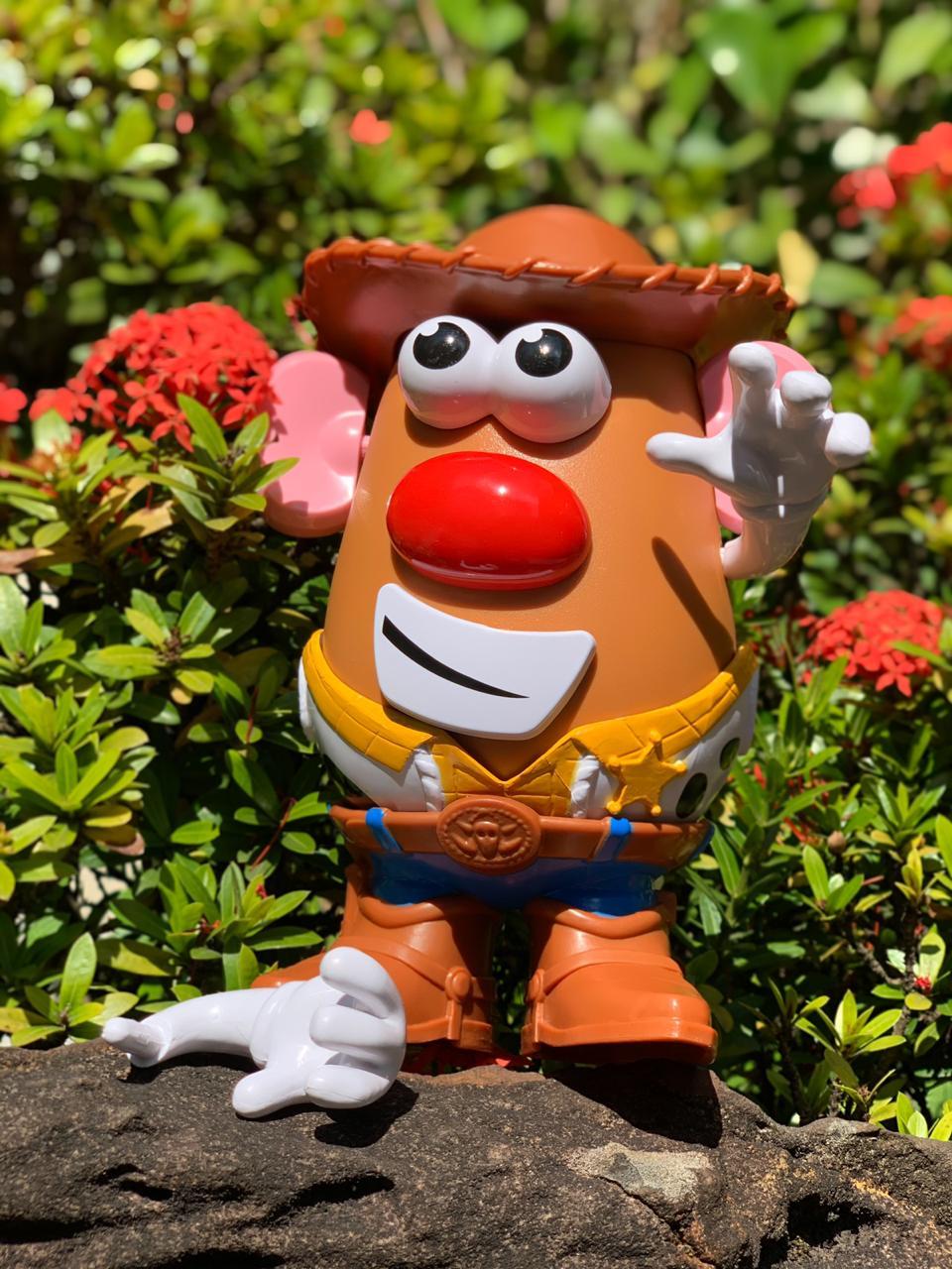 Boneco Sr. Cabeça de Batata (Mrs. Potato Head) Woody: Toy Story 4 - Hasbro