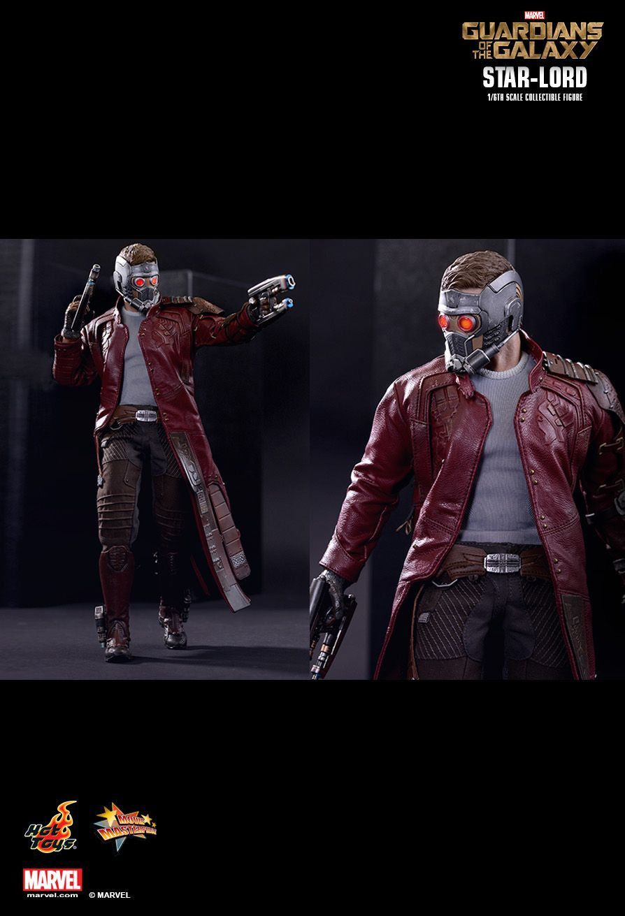 Boneco Star Lord: Guardiões da Galáxia (Guardians of the Galaxy) Escala 1/6 (MMS255) - Hot Toys - CG