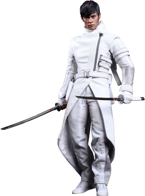 Action Figure Storm Shadow: G.I. Joe Retaliação (G.I. Joe Retaliation) Escala 1/6 (MMS193) Boneco Colecionável - Hot Toys