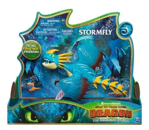 Boneco Stormfly Deluxe: Como Treinar o seu Dragão 3 - Sunny