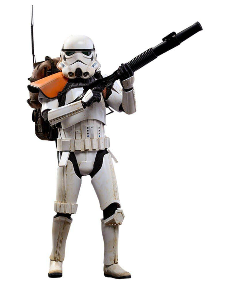 Boneco Stormtrooper Jedha Patrol: (Star Wars Rogue One) Escala 1/6 (MMS392) - Hot Toys
