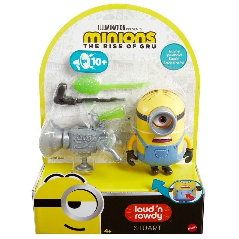 Boneco Stuart: Minions (Barulhento e Bagunceiro) - Mattel