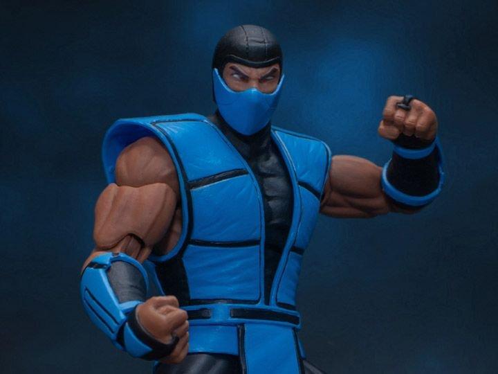 Action Figure Sub-Zero: Mortal Kombat Escala 1/12 - Storm Collectibles