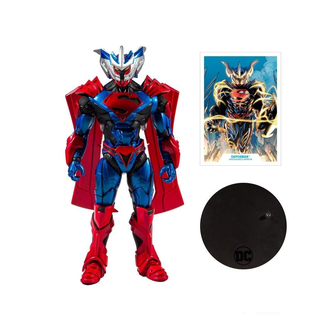 Action Figure Super-Homem Armadura Livre (Superman Unchained Armor): DC Comics (Multiverse Artic) - McFarlene Toys