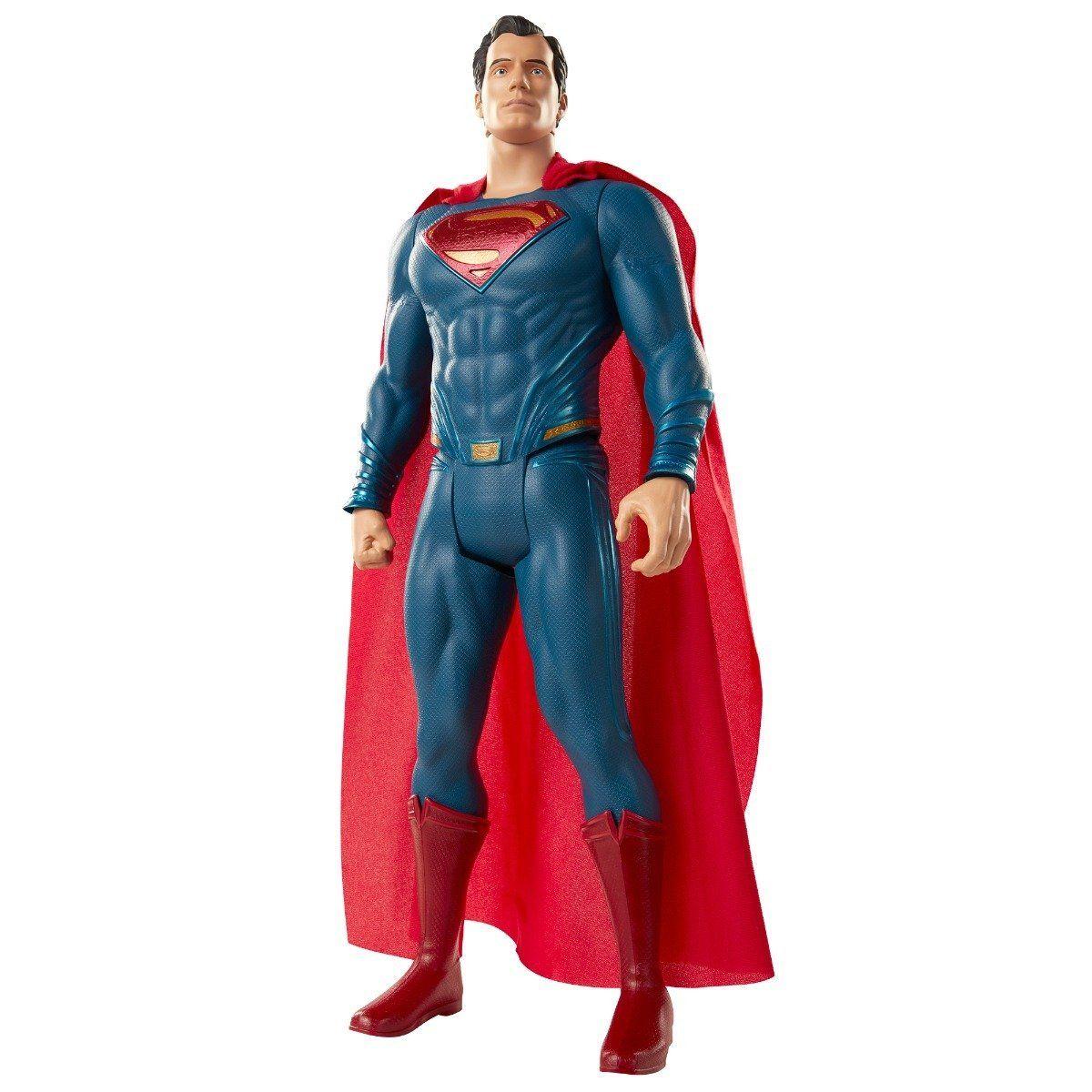 Boneco Gigante Super-Homem (Superman): Liga da Justiça (Justice League) 45CM - Mimo
