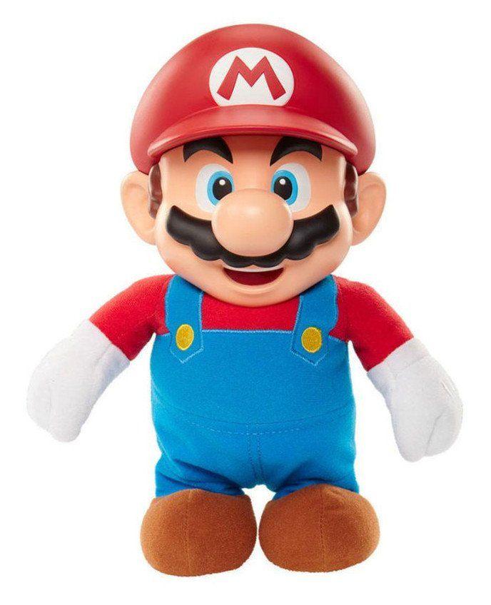 Boneco Super Jumping Mario: World of Nintendo - Jakks