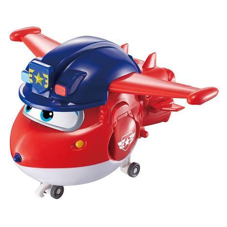 Boneco Super Wings: Police Patrol Jett  - Mattel