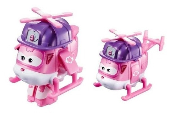 Boneco Super Wings: Rescue Riders Jett  - Mattel