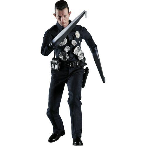 Action Figure T-1000: O Exterminador do Futuro 2 O Julgamento Final (Terminator 2 Judgment Day) Escala 1/6 (MMS129) - Hot Toys