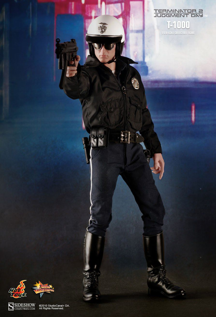 Boneco T-1000: O Exterminador do Futuro 2 O Julgamento Final (Terminator 2 Judgment Day) Escala 1/6 (MMS129) - Hot Toys - CG