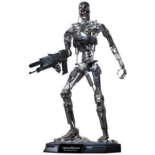 Boneco T-800 Endoskeleton: O Exterminador do Futuro (The Terminator) (QS002) Escala 1/4 - Hot Toys