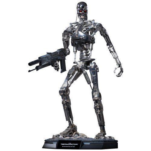 Boneco T-800 Endoskeleton: O Exterminador do Futuro (The Terminator) (QS002) Escala 1/4 - Hot Toys