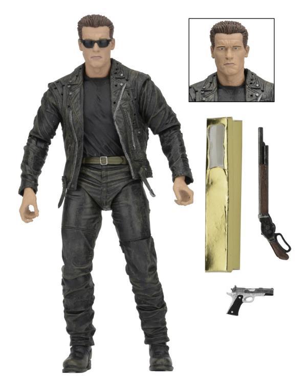 Boneco T-800: O Exterminador do Futuro 2 3D (Terminator 2 3D) Escala 1/10 - NECA