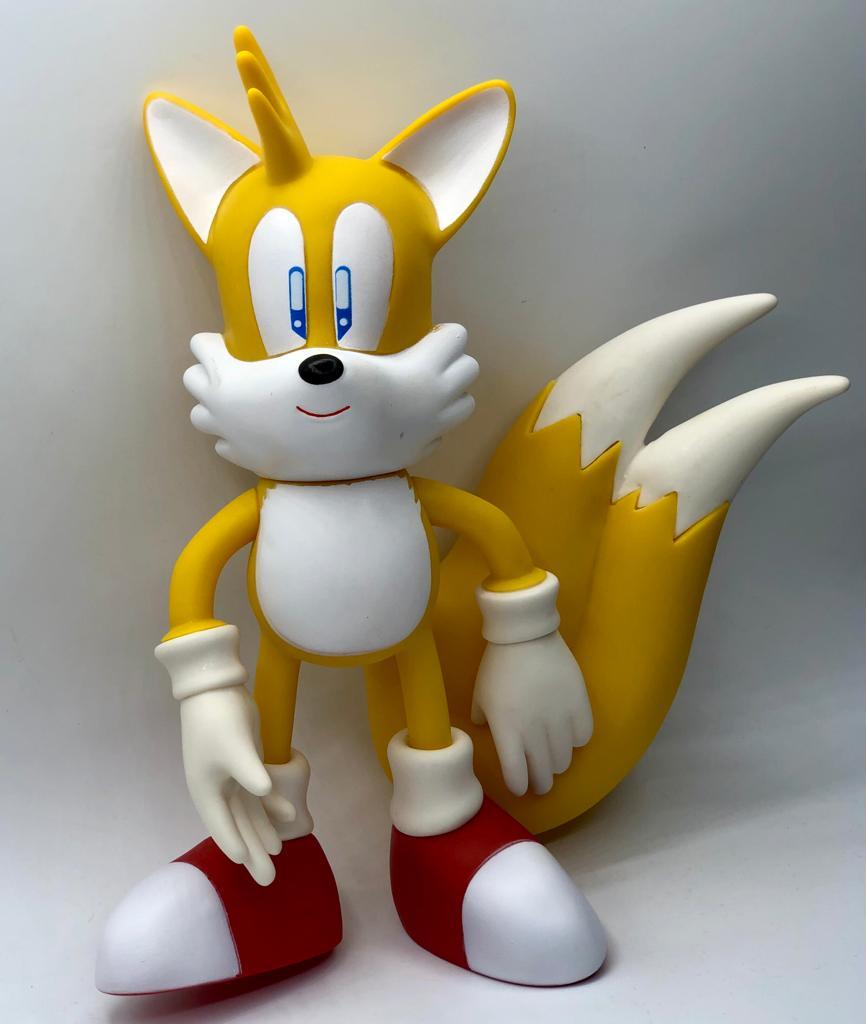 Boneco Tails: Sonic the Hedgehog (26Cm)