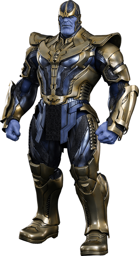 Action Figure Thanos: Guardiões da Galaxia (Guardians of the Galaxy) Escala 1/6 (MMS280) - Hot Toys (PEÇA EXPOSTA)
